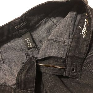 White House Black Market Shorts - WHBM Black Denim Pocket Shorts Size 00